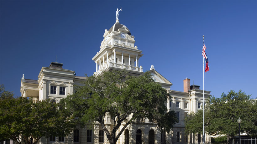 Bell County Texas Courthouse