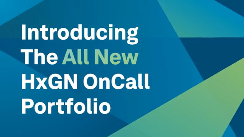 Introducing The All New HxGN OnCall Portfolio