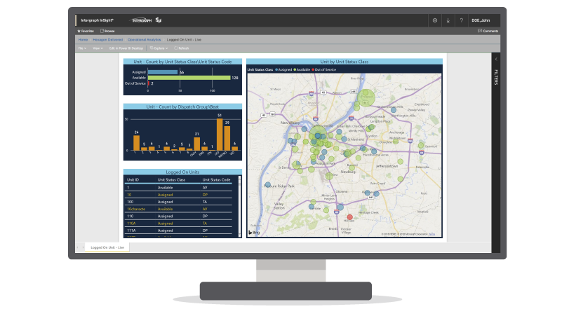 Intergraph InSight Produkt-Screenshot