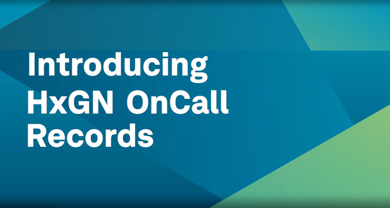 HxGN OnCall Records Video Thumb