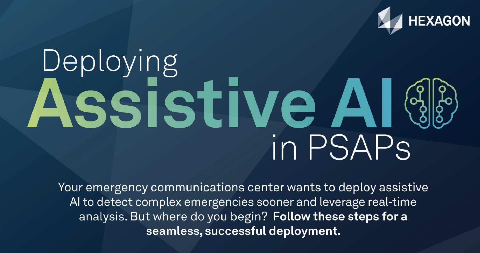 6 Steps to take when deploying AI in your PSAP