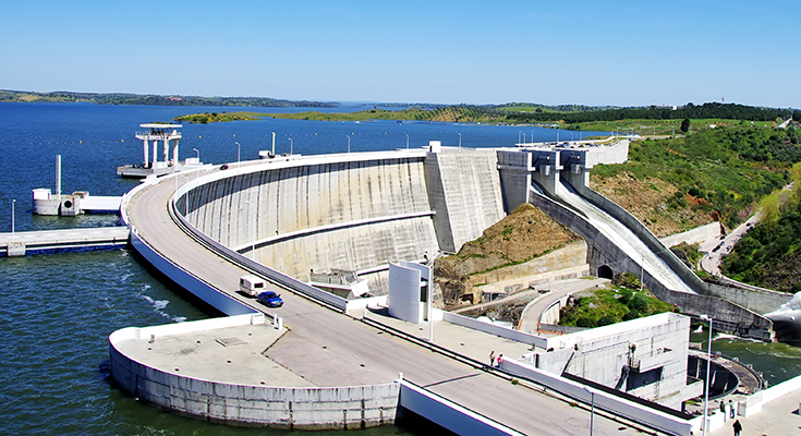 Alqueva dam and reservoir