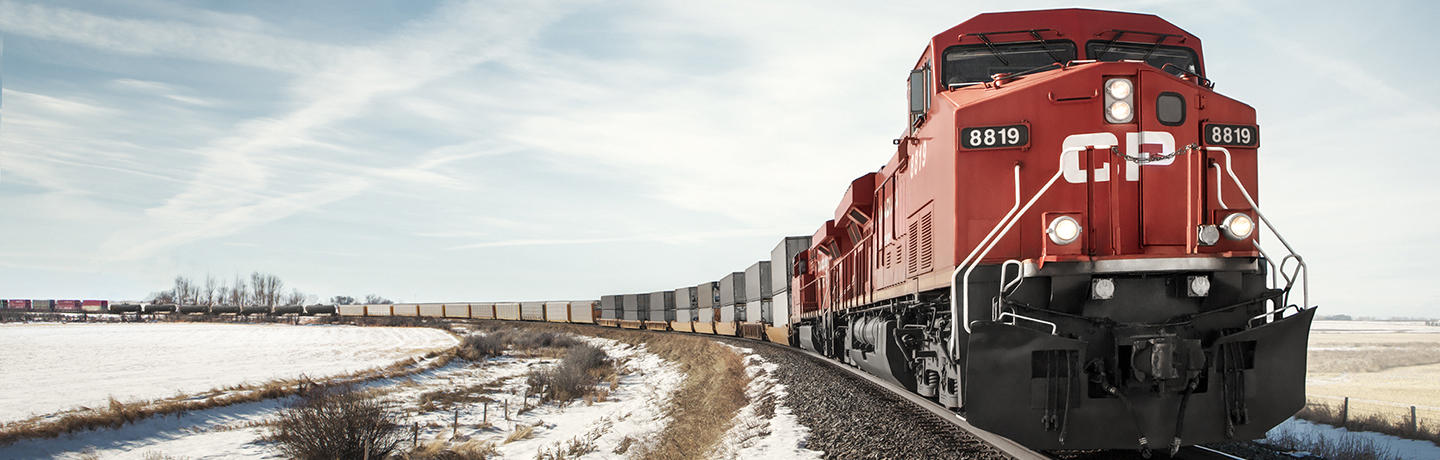 Canadian Pacific freight train.